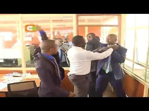 MPs Jaguar, Babu Owino fight in Parliament