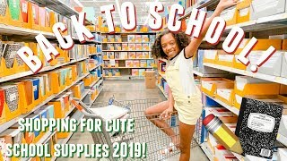 BACK TO SCHOOL SHOPPING 2019 AT WALMART AND MICHAELS!