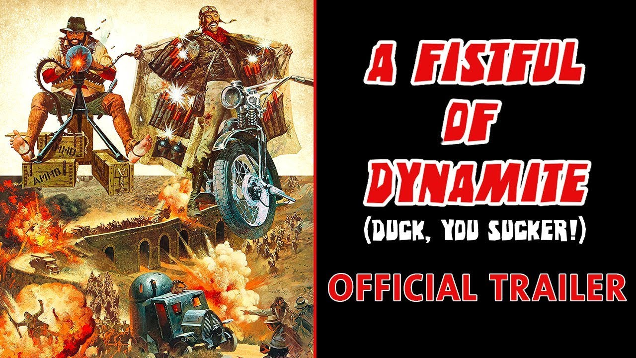 A FISTFUL OF DYNAMITE (Masters of Cinema) Trailer