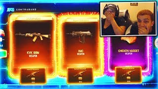 MY SISTER COULDN'T BELIEVE THE DLC WEAPON SHE GOT... (BO3)