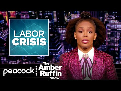 Minimum Wage Is Not a Living Wage, Americans Make More Money on Unemployment   The Amber Ruffin Show