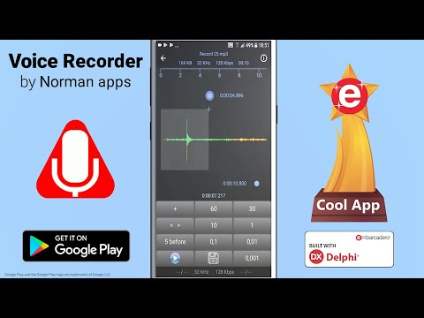 Cool App Selection - Voice Recorder By Norman Apps