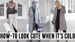 HOW-TO LOOK CUTE WHEN IT