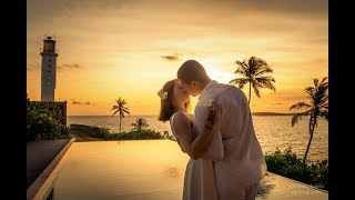 Свадьба на Шри-Ланке на берегу Индийского океана Евгения и Олеси