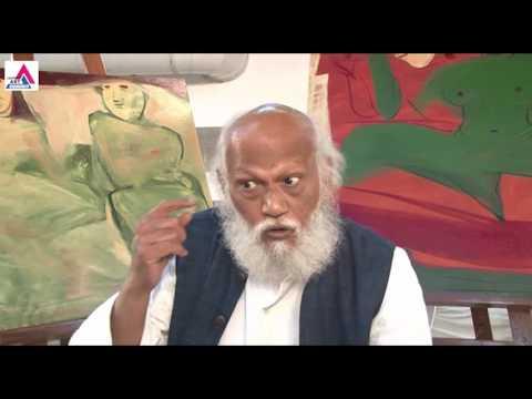Jatin Das in Jaipur Art Summit