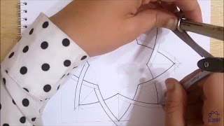 How to draw an Islamic geometric pattern #4 | زخارف اسلامية هندسية