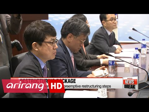 ARIRANG NEWS BREAK 10:00 Financial Services Commission unveils 3-track restructuring plan