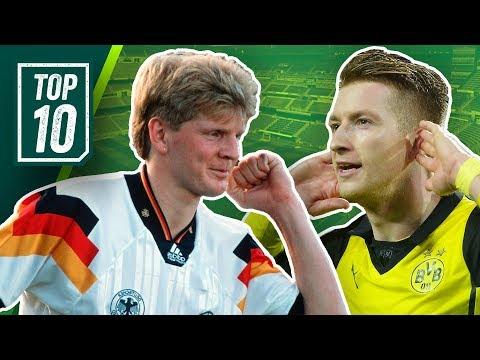 Top 10 Skandale der Fußballgeschichte feat. Marco Reus, Effenberg, Großkreutz!