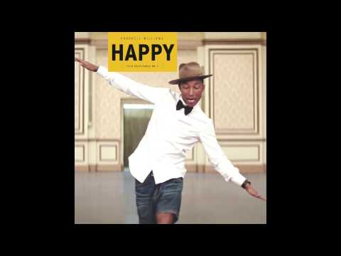 Happy - Pharrell Williams (OFFICIAL INSTRUMENTAL)