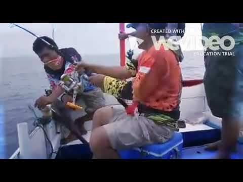 MANCING MONSTER KERAPU 100KG UP!! Loa Bakung Fishing Club Sepatin 24 Sept 2017