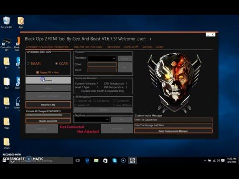 BO2/1 19] RTM TOOL /Unlock All/Custom Stats/Etc    [CEX/DEX