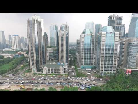 Senayan, Jakarta, 13 Juni 2017 - DJI Phantom 3 Advanced