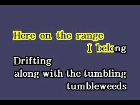 DK70 18   Sons Of The Pioneers   Tumbling Tumbleweeds [karaoke]