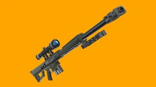 FORTNITE | Leaked Footage: The new Heavy sniper does 342 damage to the head