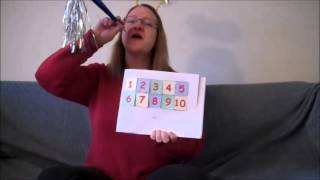 Happy New Year Theme - Count Down To 10 - Learn Numbers -- Preschool Circle Time!