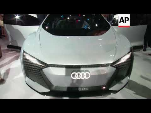 Audi's artificial intelligence car without a steering wheel
