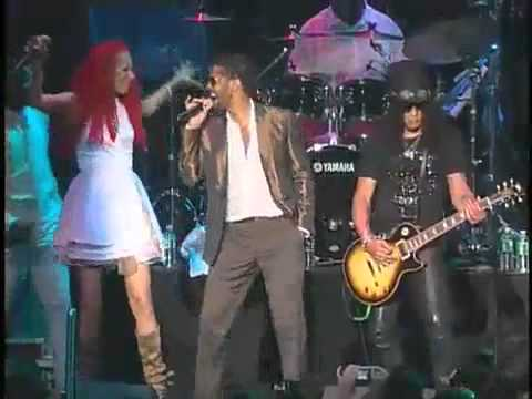 """Slash with Chic: """"Let's Dance"""" (live New York 2008)"""