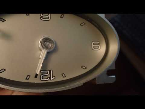 Ford Analog Style Clock Information