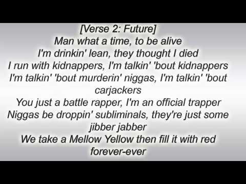 Drake & Future - Big Rings Lyrics - Lyric Video
