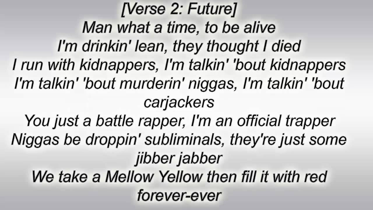 Drake Future Big Rings Lyrics Lyric