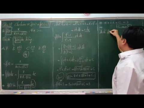 Giải chi tiết CÂU 38 đề MINH HỌA THPTQG 2020