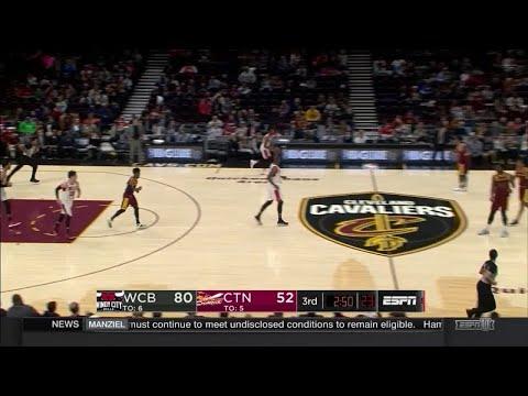 Caleb Swanigan Posts 10 points & 11 rebounds vs. Windy City Bulls