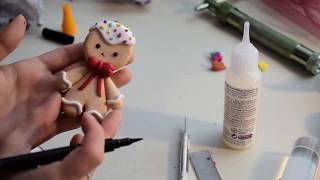 Omuleț de turtă dulce tutorial | Odaia cu Podoabe | Gingerbread Man
