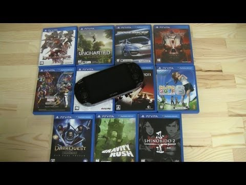 Best Ps Vita Games >> Top 12 Ps Vita Games In 15 Minutes Best Sony Ps Vita Games Youtube