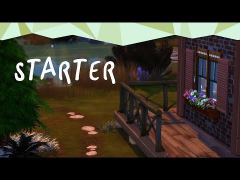 LA LETTRE 🍁/ STARTER HOUSE - SPEED BUILD - NOCC - SIMS 4