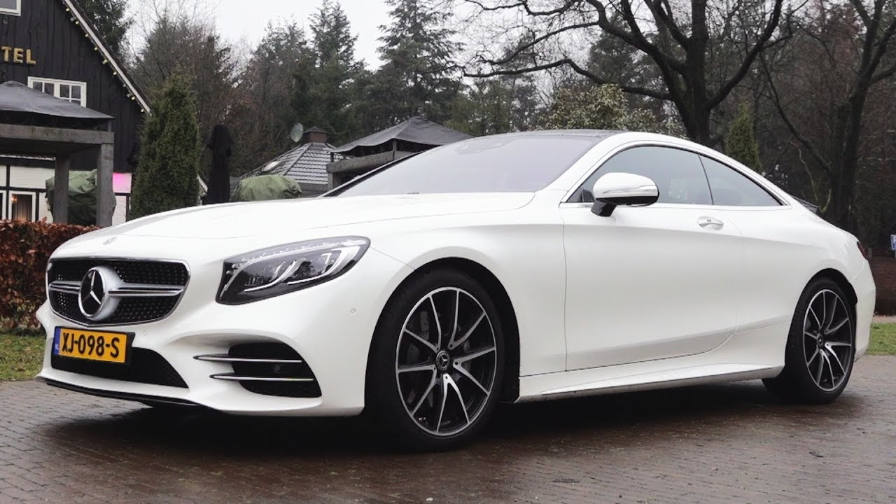 S Class Coupe >> 2019 Mercedes S Class Coupe - BRUTAL S560 Drive Review NEW Sound Exhaust - YouTube