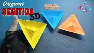 Cara Membuat Segitiga 3D || how to make a 3D Triangle