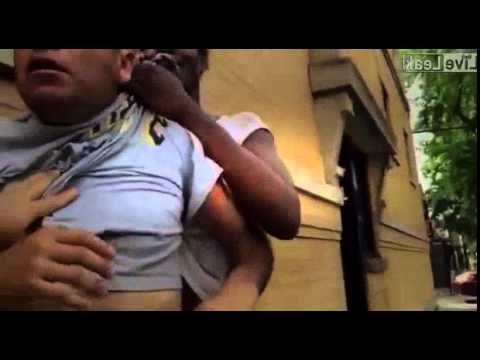 Baby Mama Drama- Donna attacks her deadbeat baby daddy Jose in Chicago's Humboldt Park
