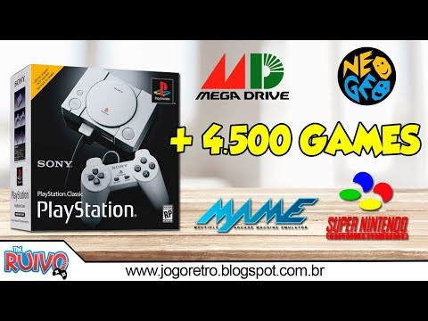 comprei-o-ps1-classic-mini-completo-com-4.500-games-da-@game-com-café