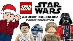 LEGO Star Wars Advent Calendar 2020 Figure Description