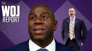Magic Johnson continues Lakers dysfunction as Frank Vogel looks to right the ship | The Woj Report