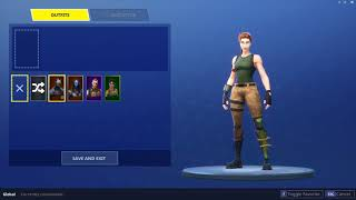 SELLING // TRADING A FORTNITE ACCOUNT WITH 4500 VBUCKS AND OG AND RARE SKINS  (CHEAP)