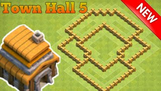 Clash of Clans | The Ultimate Th5 Trophy Base Layout 2017 | Clash of Clan base