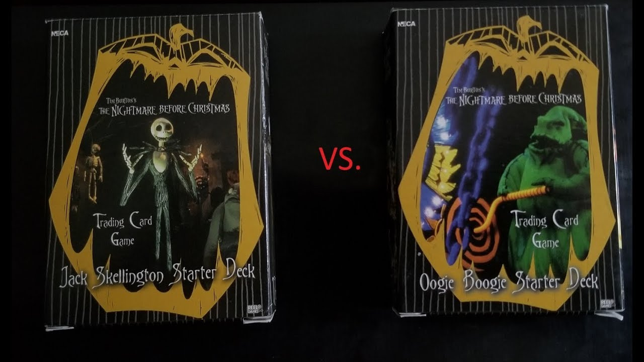 Gameplay: The Nightmare Before Christmas TCG - Jack Skellington and ...