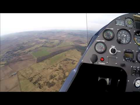 Autogyro flight from Perth Aerodrome