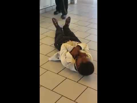 Man Hits Female Officer Then Gets Tased Over And Over Again In McDonalds