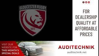 Auditechnik Gloucester Rugby Concourse Advert