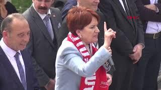 İYİ Parti Genel Başkanı Meral Akşener, Turgutlu'da