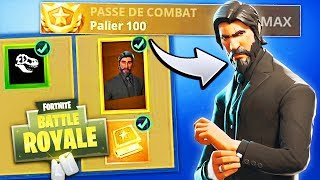 OPTIMIZE THE COMBAT PASS TO LEVEL 100! (Fortnite Battle Royale)