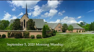 September 6 2020 Morning Worship