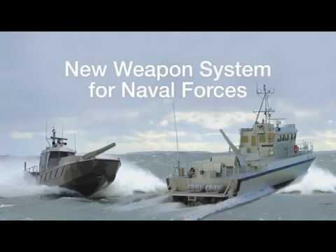 Patria Nemo Navy 120mm Naval Mortar System Youtube