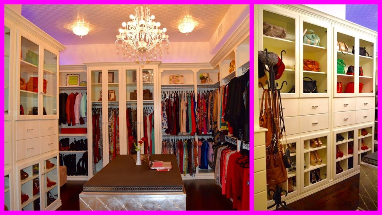 Walk In Closets Pictures my new walk in closet tour - youtube