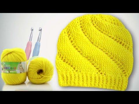 Крючком для девочек шапочки схемы