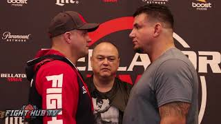 Cover images LEGENDS FACE OFF! THE FULL FEDOR EMELIANENKO VS FRANK MIR FACE OFF VIDEO