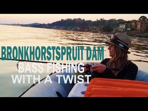 Bass Fishing Challenge At Bronkhorstspruit Dam, South Africa (Oct 2018) - Ned Rig Vs Flukes