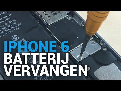 iPhone 6 batterij vervangen – FixjeiPhone.nl